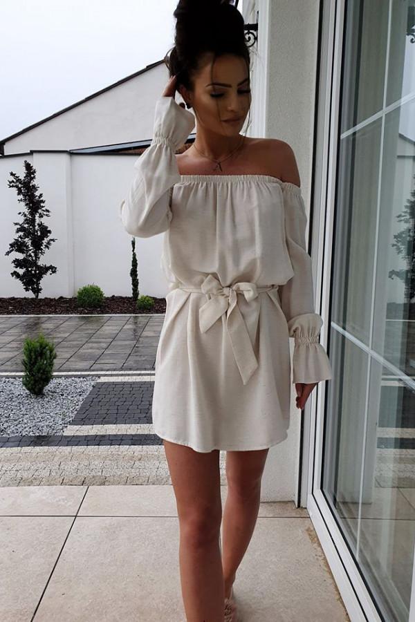 Sukienka lniana 2