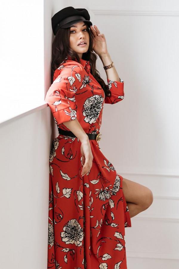 Sukienka Universal czerwona 1