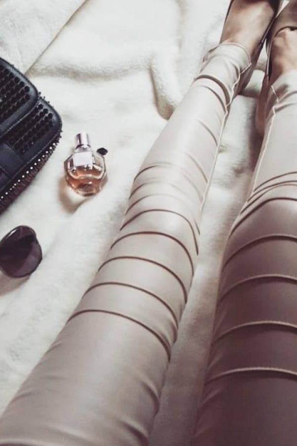 Spodnie beż 1