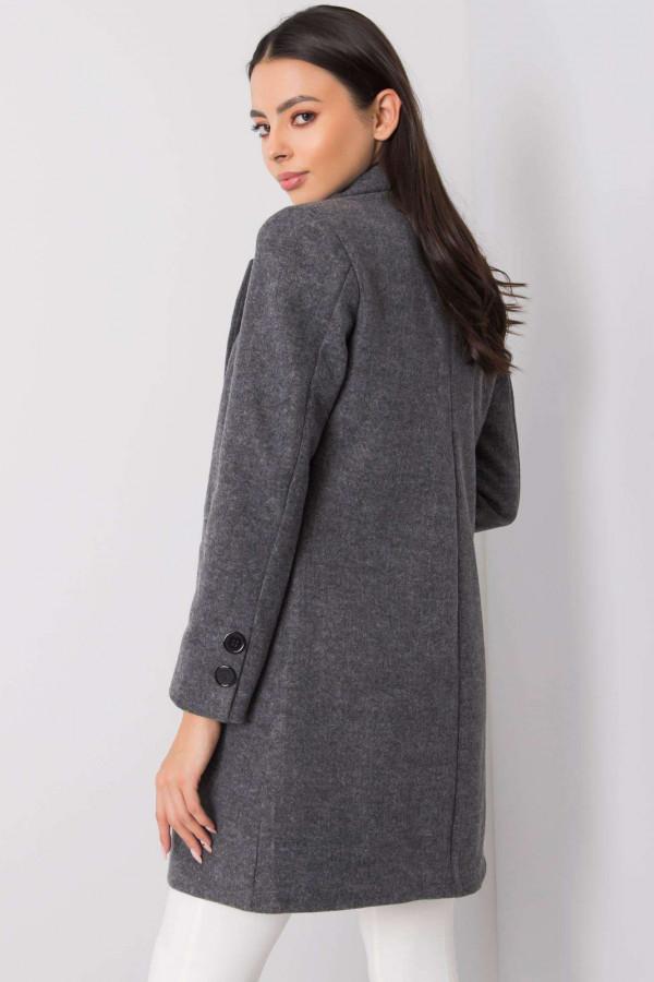 Ciemnoszary płaszcz Dorna 2