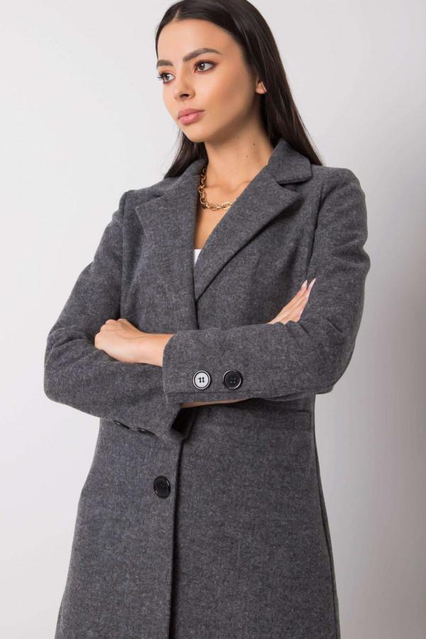 Ciemnoszary płaszcz Dorna 3