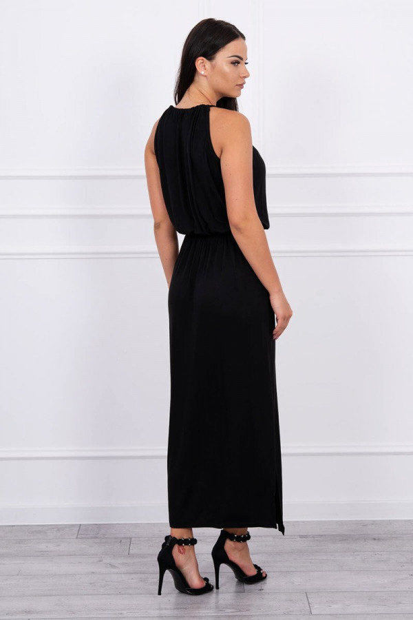 Sukienka BOHO czarna 1