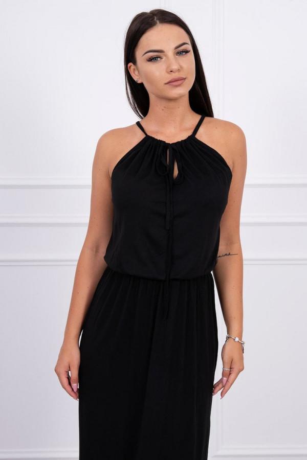 Sukienka BOHO czarna 2