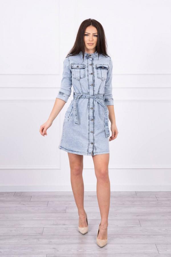 Sukienka jeansowa ze stretchem