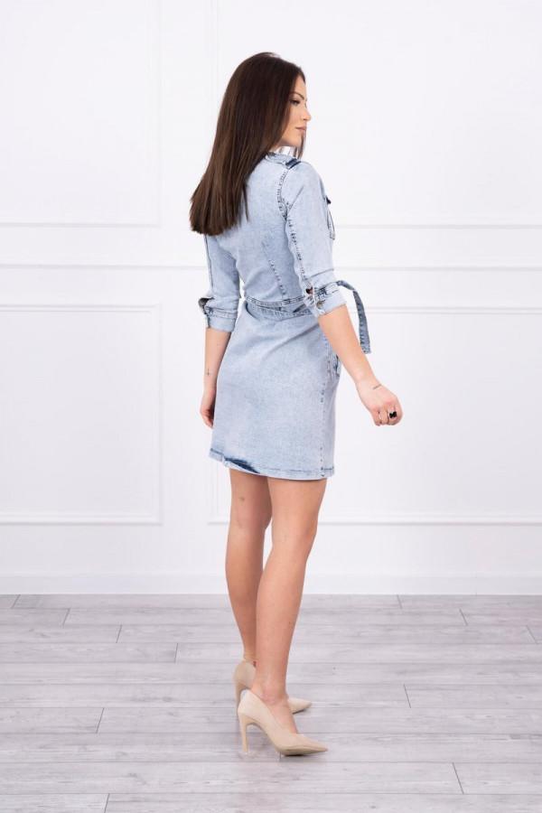Sukienka jeansowa ze stretchem 1