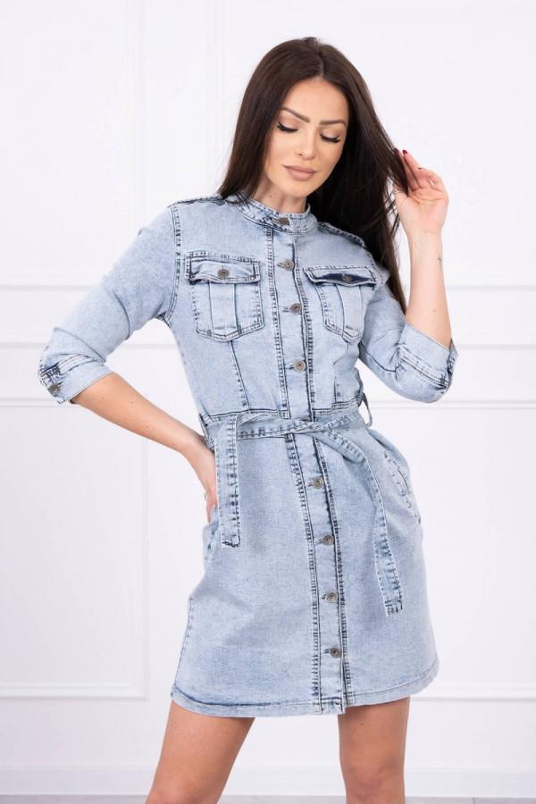 Sukienka jeansowa ze stretchem 2