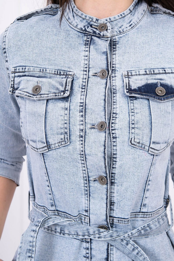 Sukienka jeansowa ze stretchem 4