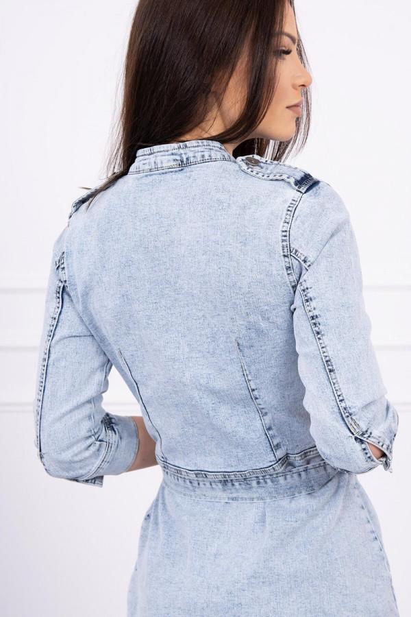Sukienka jeansowa ze stretchem 5