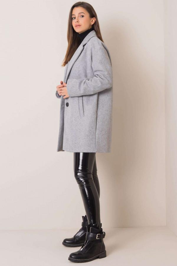 Szary płaszcz Corinna 1
