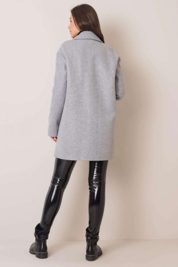 Szary płaszcz Corinna 2