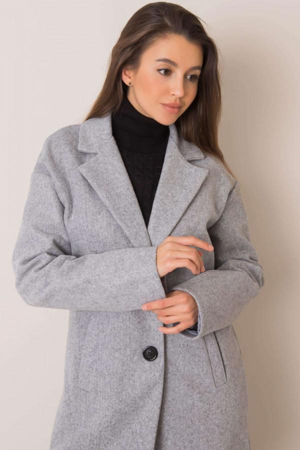 Szary płaszcz Corinna 3