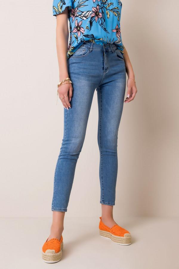 Jeansy dopasowane Sound blue denim