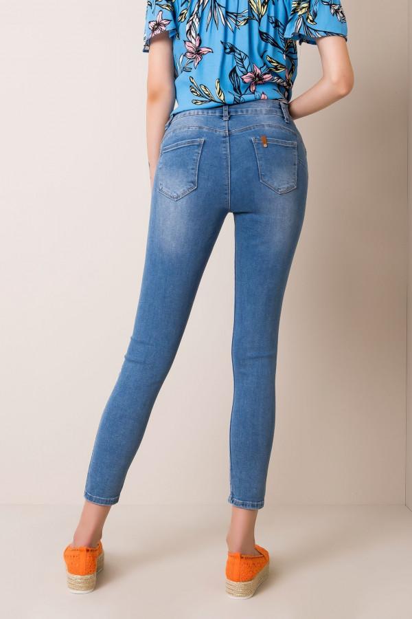 Jeansy dopasowane Sound blue denim 1