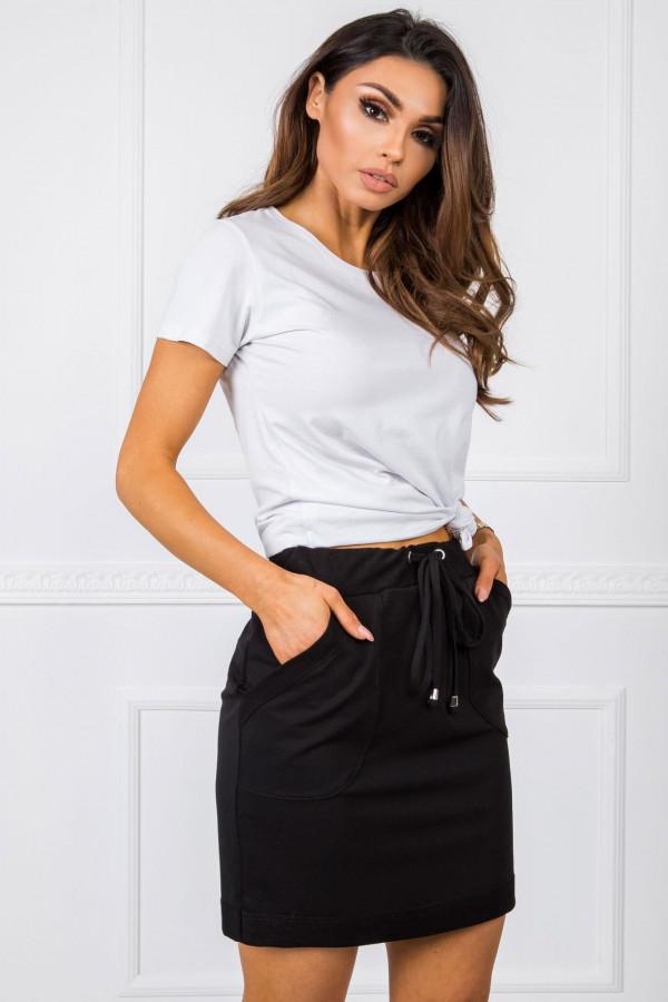 Spódnica mini Evie sportowa czarna