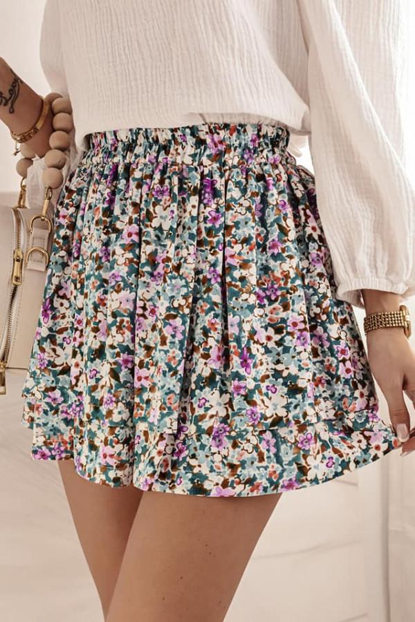 Spódnica mini z printem