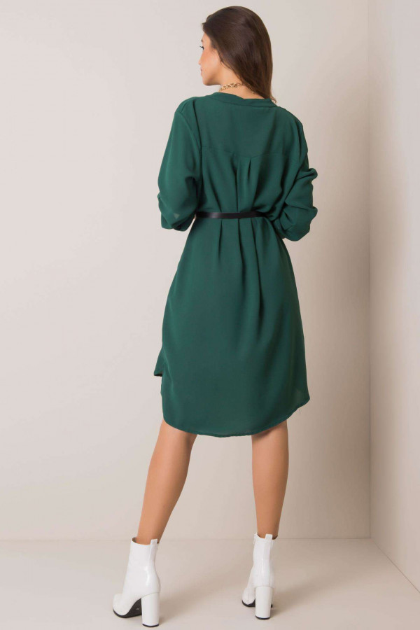 Sukienka one size Stella ciemnozielona 1