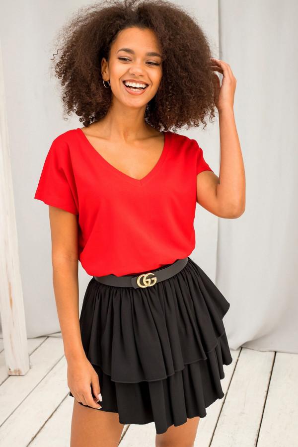 T-shirt basic Emory czerwony