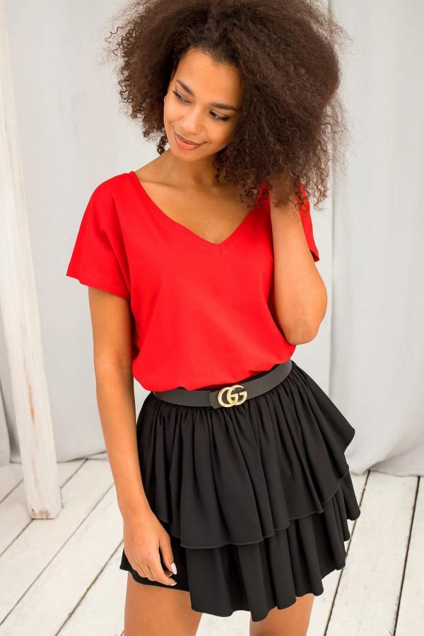 T-shirt basic Emory czerwony 1