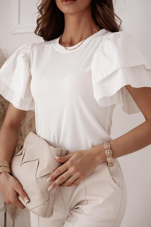 Bluzka Fiona biała