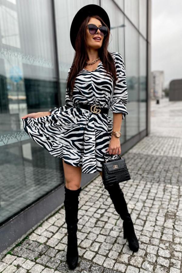 Sukienka Summer zebra