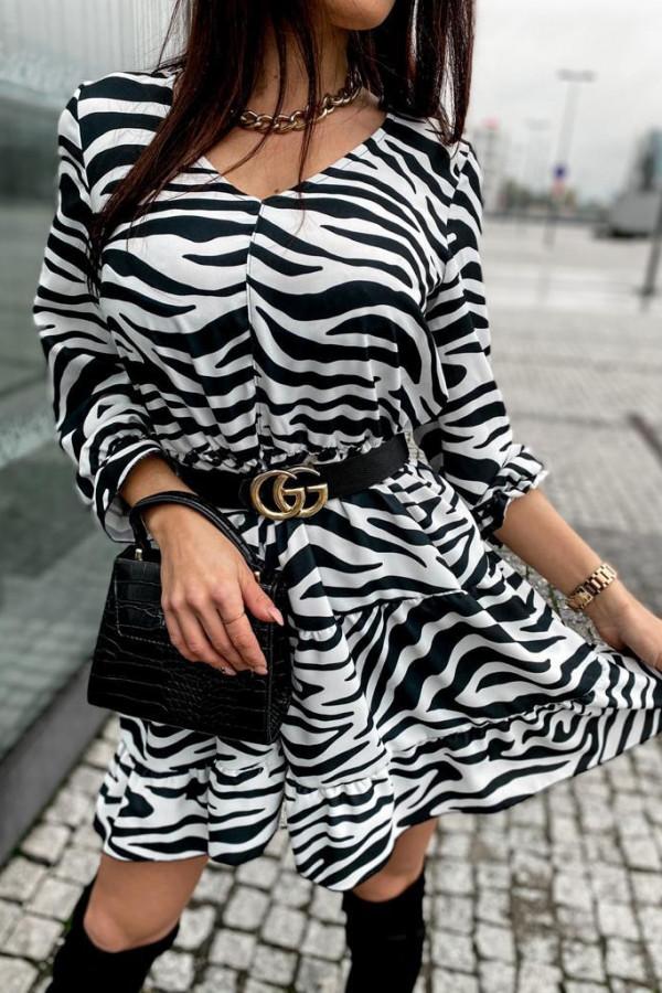 Sukienka Summer zebra 2