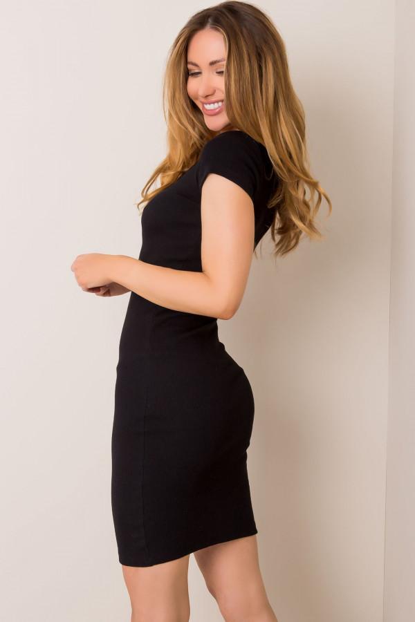 Czarna sukienka Netrice 1