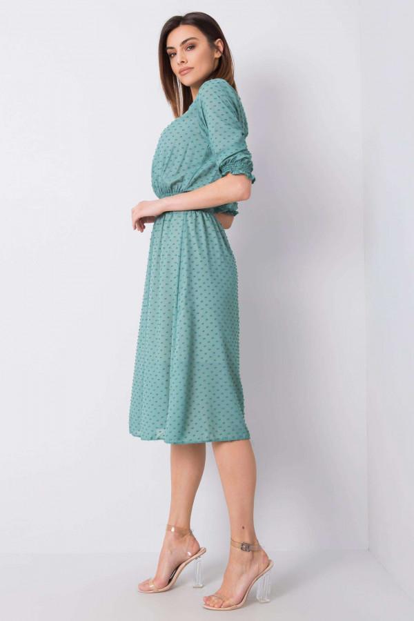 Sukienka Nancy morska 1