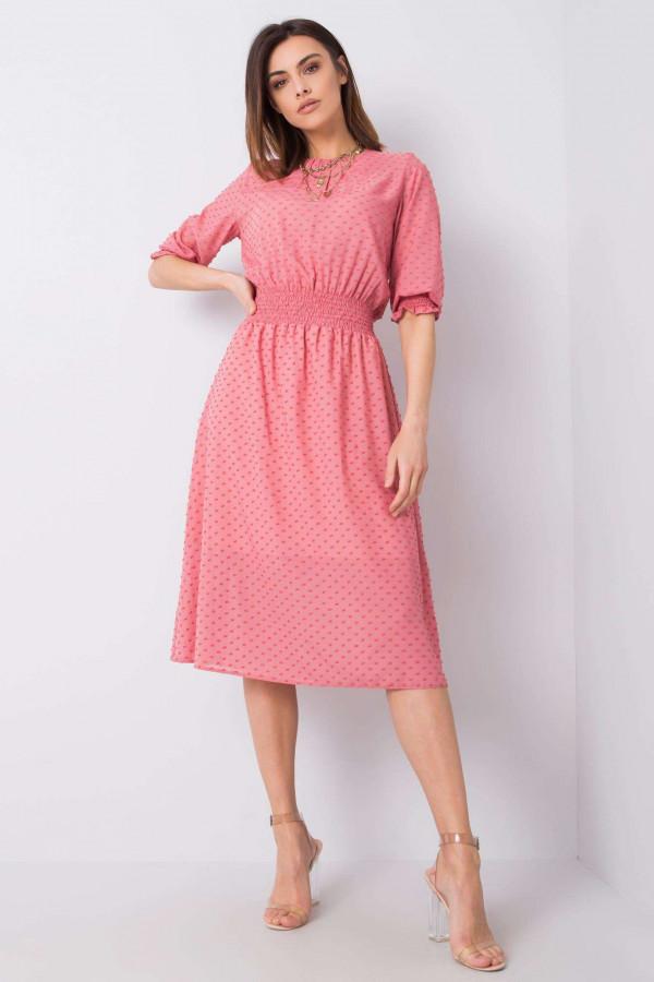 Sukienka Nancy brudnoróżowa 1