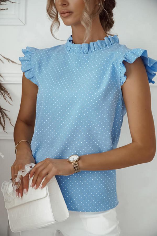 Bluzka Xenia niebieska
