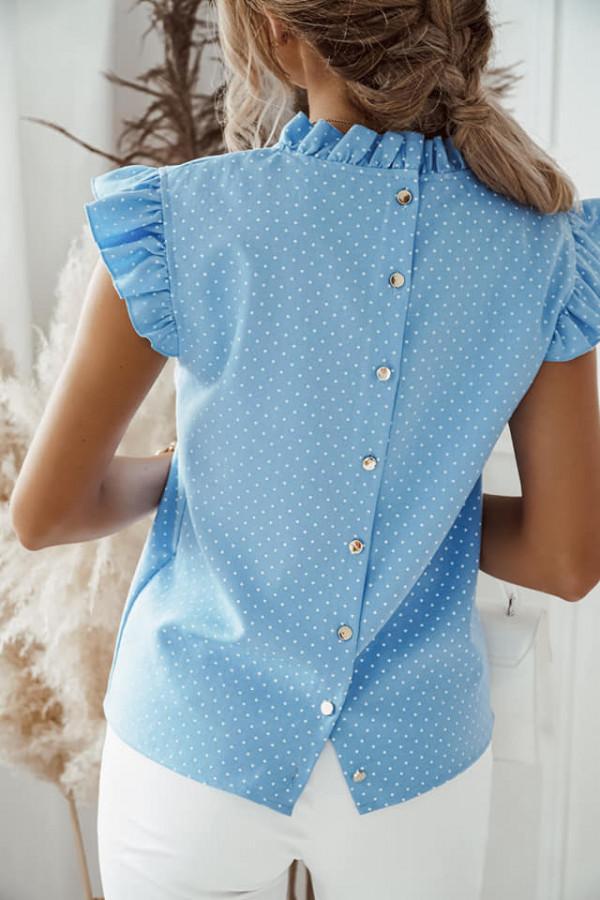Bluzka Xenia niebieska 1