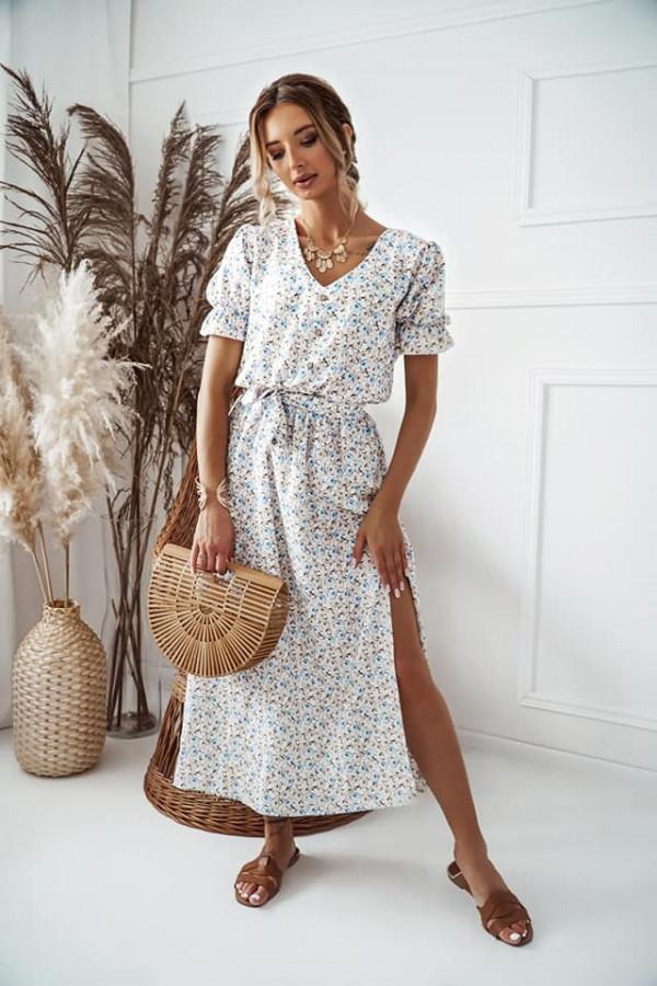 Sukienka Zefir beżowa