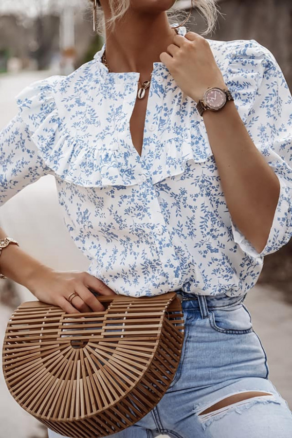 Koszula Sonia z kwiatowym printem