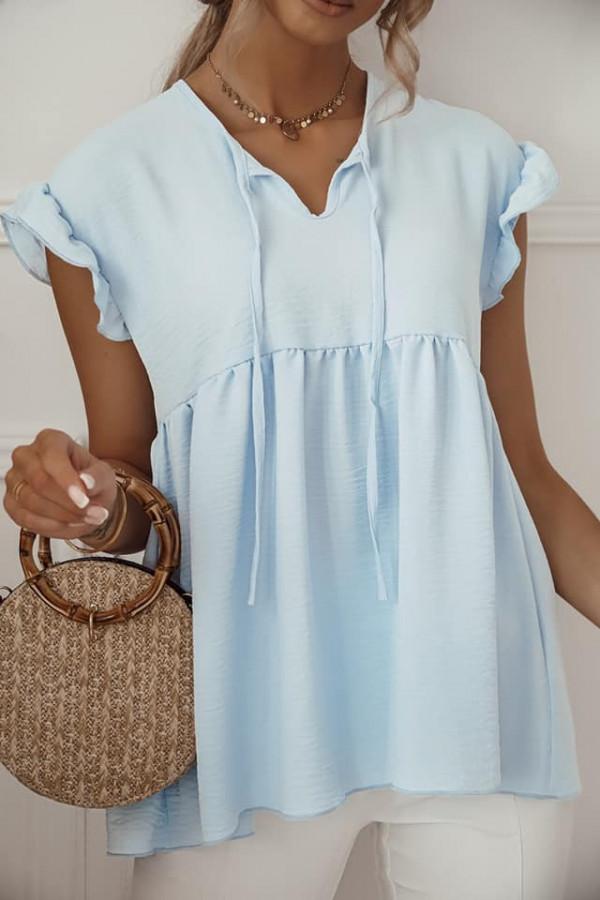 Bluzka z łezką baby blue 1
