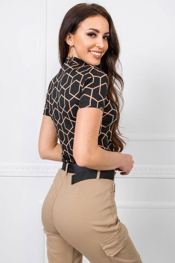 Czarno-beżowa bluzka Lizzy 1