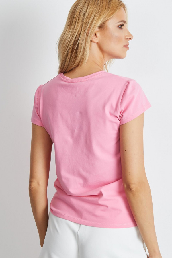 Jasnoróżowy t-shirt Peachy 2