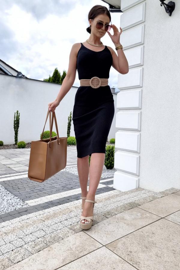 Sukienka Finezja czarna