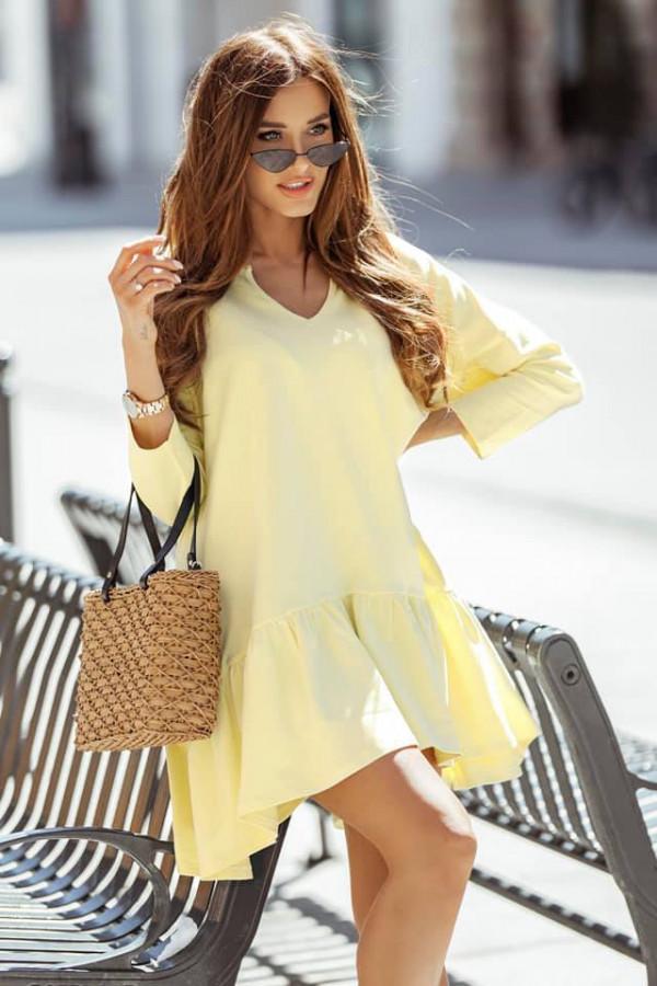 Sukienka Bonnie żółta