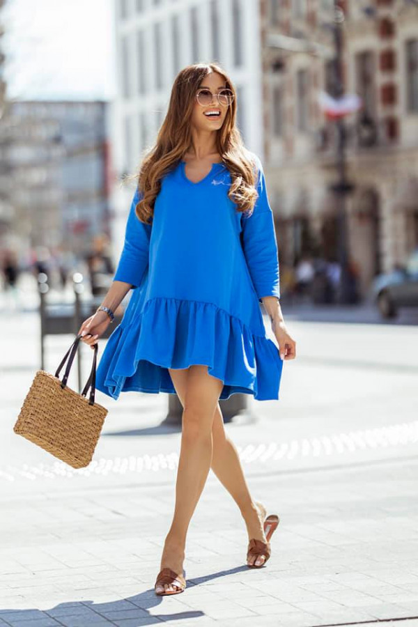Sukienka Bonnie niebieska
