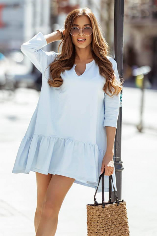 Sukienka Bonnie błękitna
