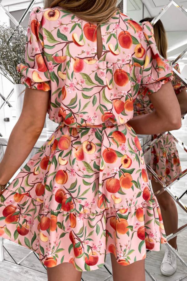 Sukienka Spring w brzoskwinie 1