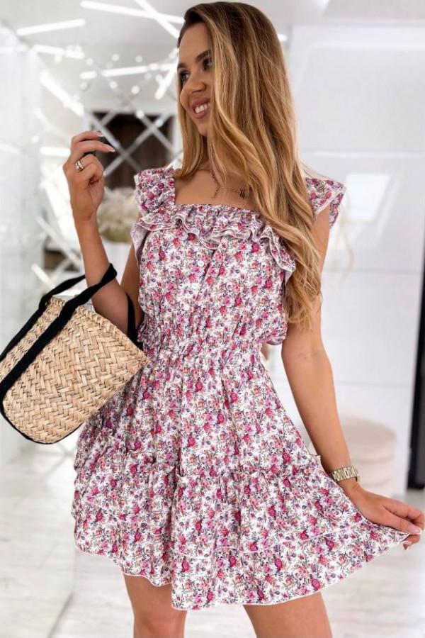Sukienka Hiszpanka w kwiatki