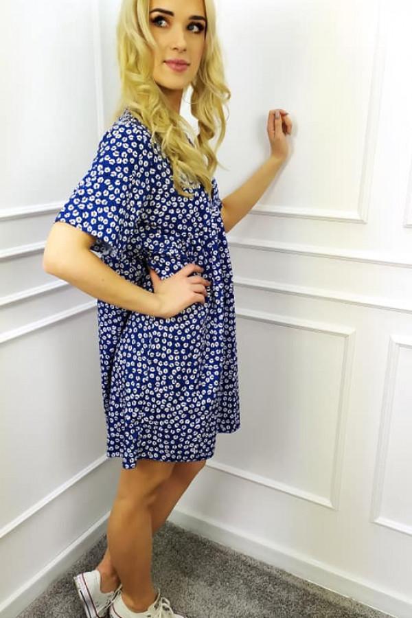 Sukienka Mila niebieska 1