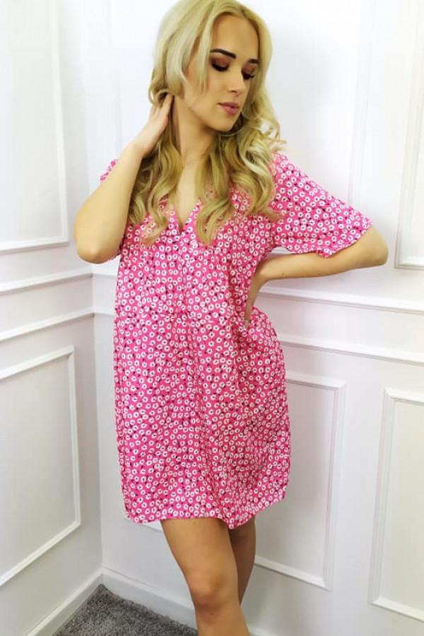 Sukienka Mila różowa