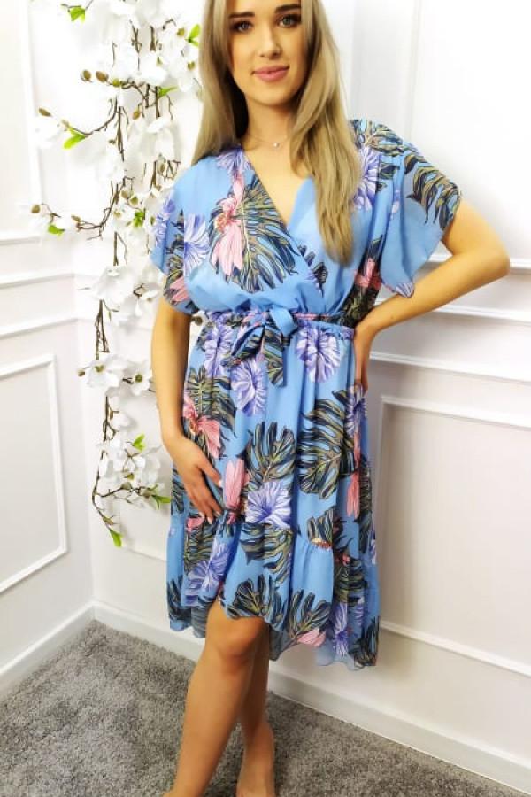 Sukienka Nina niebieska