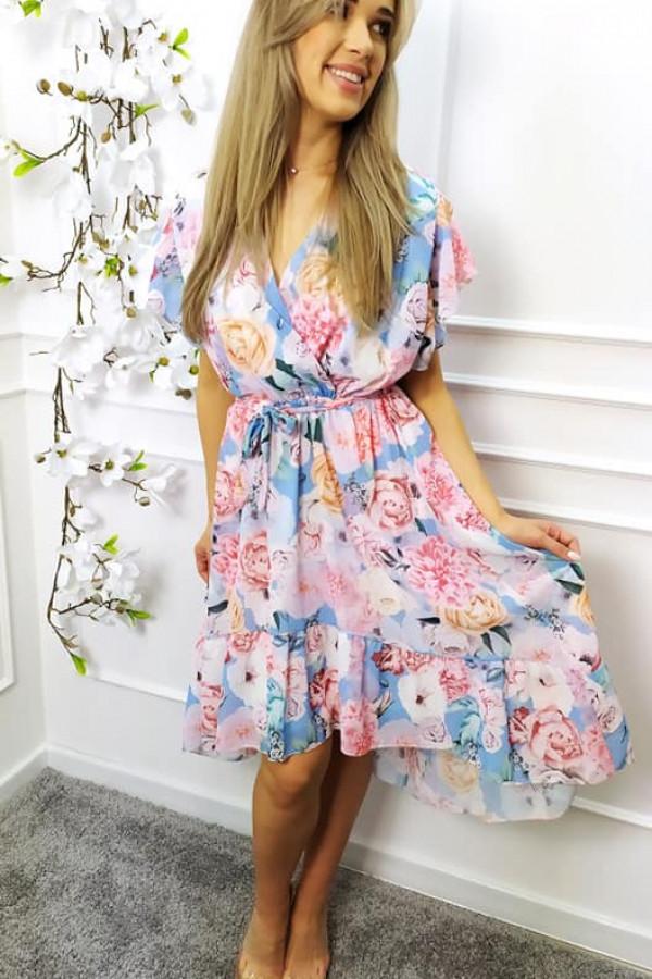 Sukienka Nina różowa