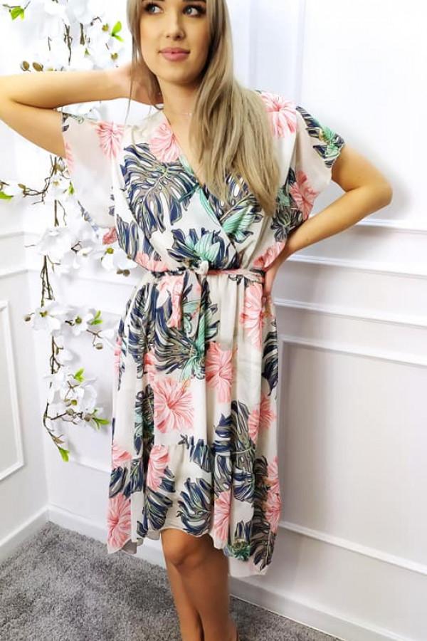 Sukienka Nina w kwiatowy print