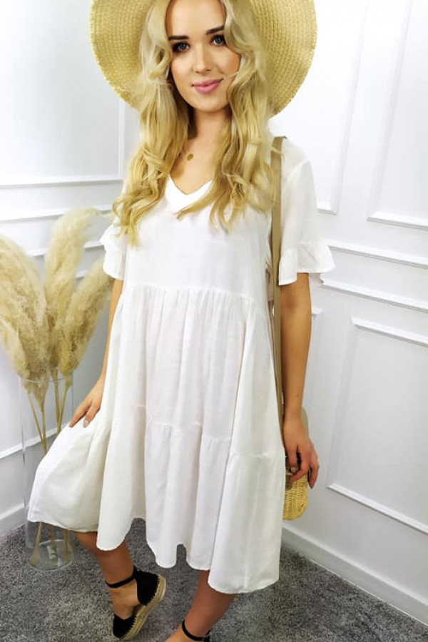 Sukienka long biała