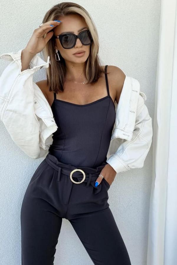 Spodnie Tally czarne 2