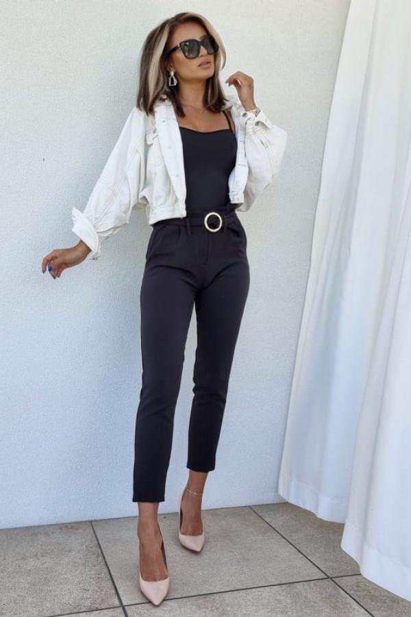 Spodnie Tally czarne 3