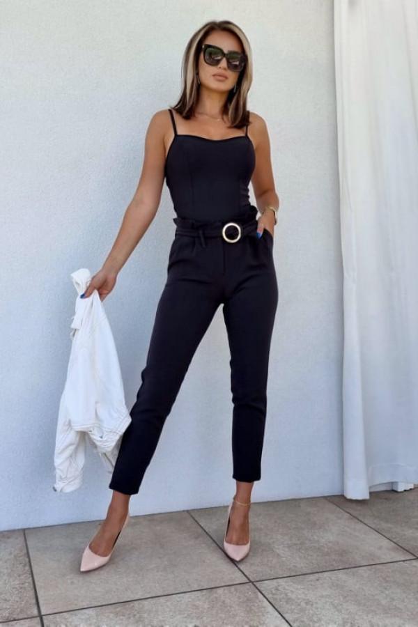 Spodnie Tally czarne 4